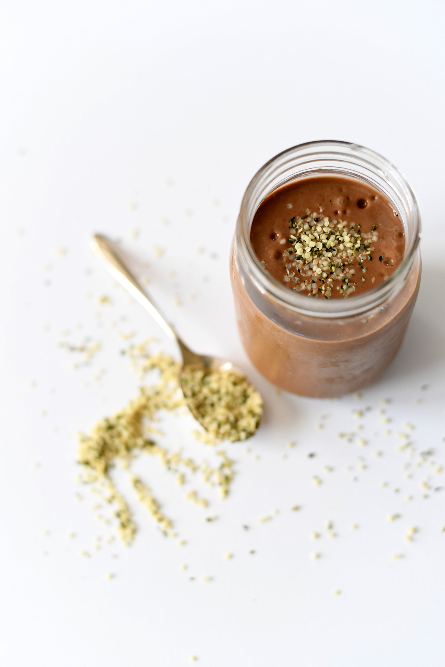 Supercharged Chocolate Almond Delight Greens Smoothie